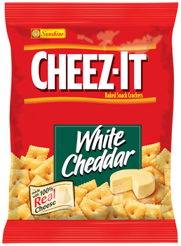 Cheez-It, White Cheddar Crackers, 1.5 oz. Bag (1 Count)