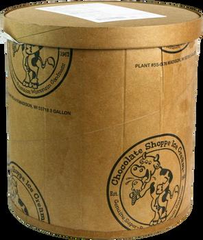 Chocolate Shoppe, Caramel Cashew NSA Ice Cream, 3 Gallons (1 Count)