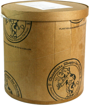 Chocolate Shoppe, Door County Cherry Ice Cream, 3 Gallons (1 Count)