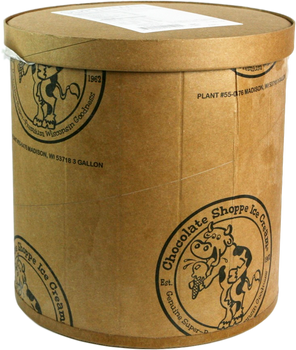 Chocolate Shoppe, Strawberry Soy Ice Cream, 3 Gallons (1 Count)