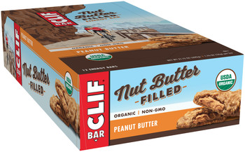 CLIF Nut Butter Filled, Peanut Butter, 1.76 oz. Bar (12 Count)