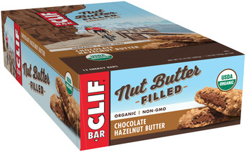 CLIF Nut Butter Filled. Chocolate Hazelnut Butter, 1.76 oz. Bar (12 Count)