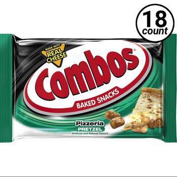 Combos, Pizzeria Pretzel, 1.7 oz. (18 Count Case)