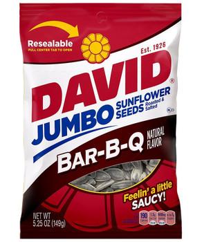 David's Sunflower Seeds, BBQ, 5.25 oz. Bag (1 Count)