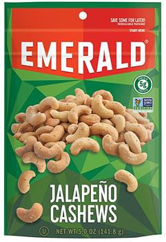 Emerald Nuts, Cashews, Jalapeno, 5.0 oz. (1 Count)