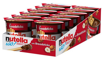 Nutella & Go Packs with Breadsticks, 1.8 oz. Packs (12 Count)
