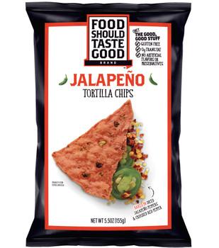 Food Should Taste Good, Jalapeno Big Bag, 5.5 oz. Bag (1 Count)