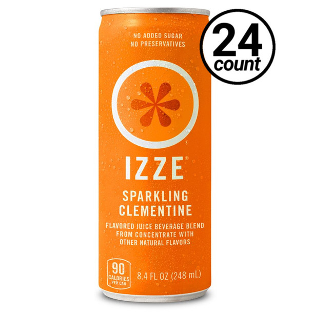 IZZE, Clementine, 8.4 oz. Cans (24 Count)