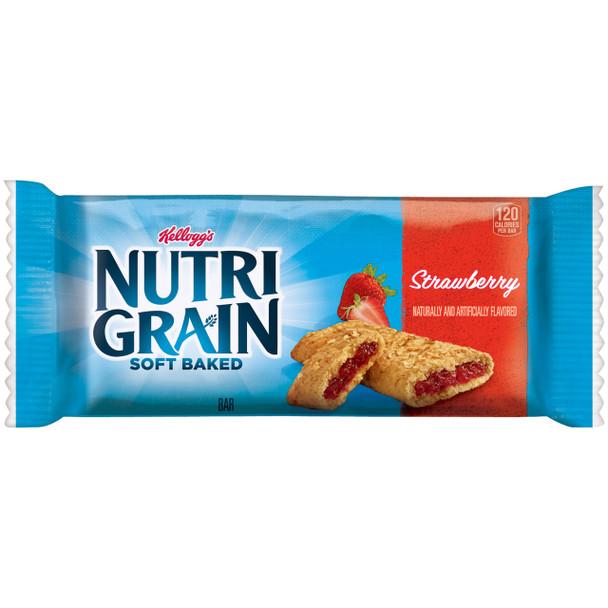 Kellogg's, Nutri-Grain Cereal Bar, Strawberry, 1.3 Oz