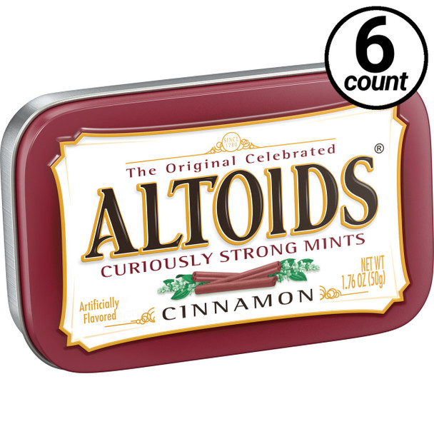 Altoids, Cinnamon, 1.76 oz. Tins (6 Count)