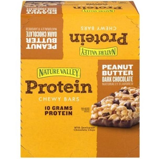 Nature Valley, Protein Bar, Peanut Butter Dark Chocolate, 1.42 oz. (16 Count)