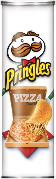 Pringles Potato Crisps, Pizza, 5.5 oz. Can (1 Count)