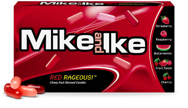 Mike and Ike, Red Rageous,  5.0 oz box, ( 1 count )