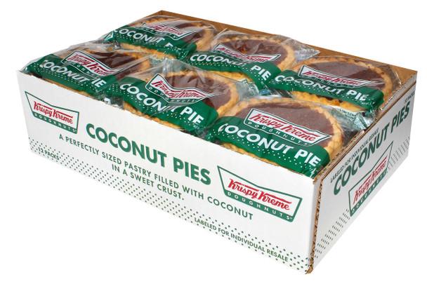 Krispy Kreme, Baked Coconut Pies, 3 Oz (12 Count)