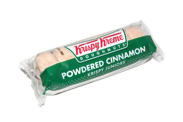 Krispy Kreme, Cinnamon Sugar Doughnuts, 3 Oz Pack (12 Count)