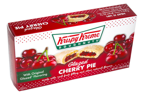 Krispy Kreme, Glazed Cherry Pie, 4 Oz (48 Count)