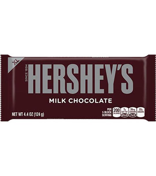 Hershey's Milk Chocolate, 4.4 Oz Bar (12 Count)