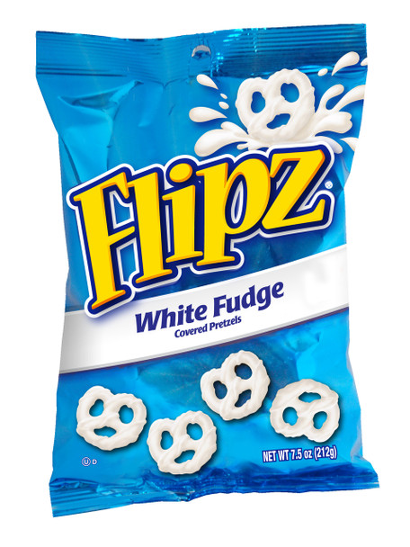 Flipz White Fudge Pretzels, 7.5 Oz Bag (1 Count)