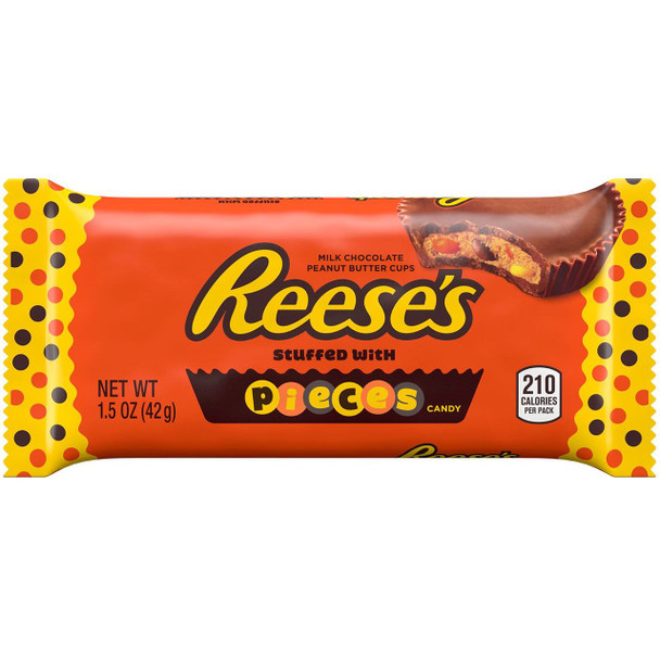 Reese's Pieces, Peanut Butter Cup, 1.5 oz. (24 count)