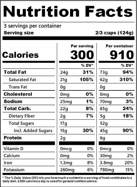 Luna & Larry's Coconut Bliss, Mint Chip Galactica Vegan Ice Cream - Organic - Gluten Free (Pint)