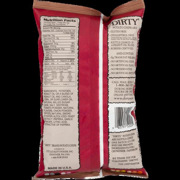 Dirty Potato Chips, Mesquite BBQ, 2 Oz (1 Count)