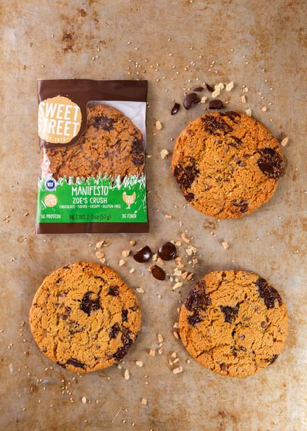 Sweet Street Zoe's Crush Manifesto Cookie, 2.8 oz (8 count)