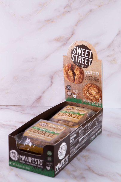 Sweet Street Salted Carmel Manifesto Cookie, 2.8 oz (8 count)