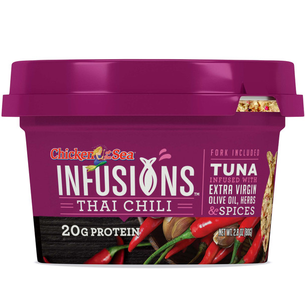 Chicken of the Sea Infusions,Tuna with Thai Chili , 2.8 oz (1 count)