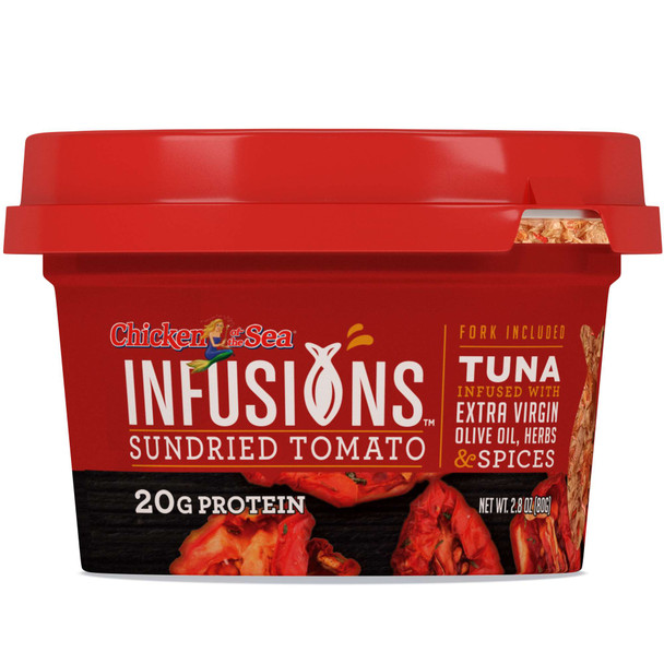Chicken of the Sea Infusions,Tuna with Sundried Tomato, 2.8 oz (1 count)
