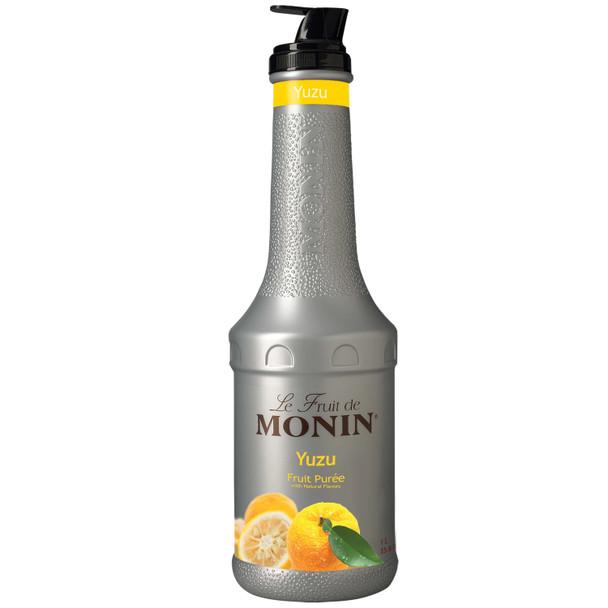 Monin, Yuzu Fruit Puree, 1 L.  (4 Count)