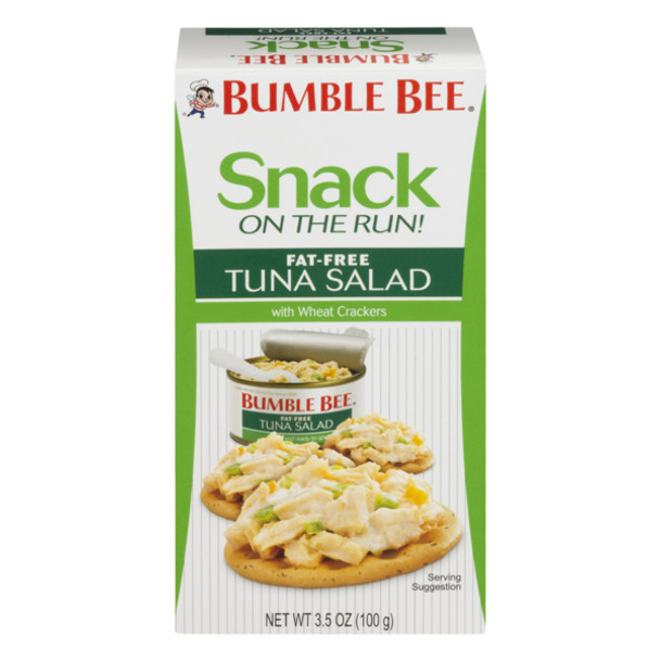 Bumble Bee, FAT FREE Tuna Salad Kit with Crackers, Ready to Eat, 3.5 oz. (1 Count)