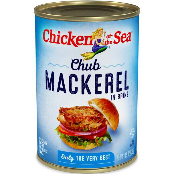 Chicken Of The Sea, Mackerel, 15 oz. (24 count)