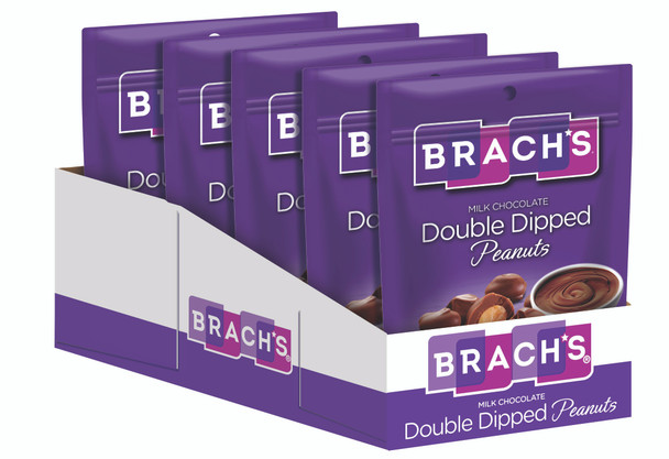 Brach's, Milk Double Dipped Peanuts, 6 oz. (8 Count)