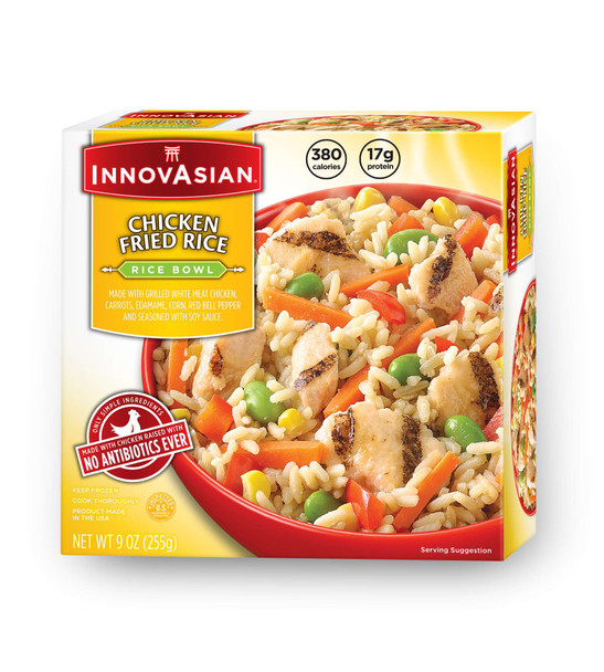InnovAsian Chicken Fried Rice Bowl, 9 oz (1 count)