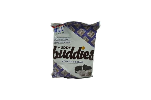 Chex Mix, Muddy Buddies Cookies & Cream Snack Mix, 4.5 oz. (1 Count)