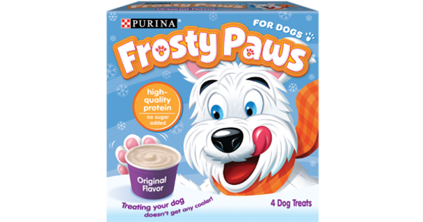 Frosty Paws, Original Flavored Dog Ice Cream Cup, 3.25 oz (48 Count)