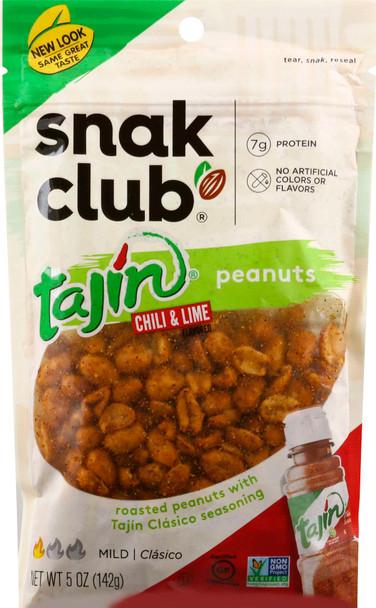 Snak Club, Tajin Classico Peanuts, 5 oz. (6 Count)