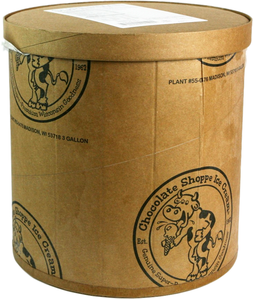 Chocolate Shoppe, Caramel Chaos Ice Cream, 3 Gallon (1 Count)