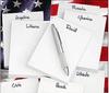 8 Custom Notepads & 8 Names! Font L01