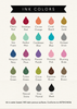 Three Designing Women Ink Color Options
