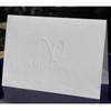 Your Logo Embossed on ‰ÛÜ4.5‰Û x 6.25‰Û Folded Notes