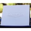 Your Logo Embossed Tradition Frame on Folded Notes - Sample