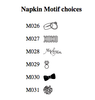The Wedding Guest Towel Napkin - Foil Pressed - Napkin Motifs & Symbols