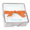 "Family Arched Memo Square Notepads with Holder - 275 Sheets - 5"" x 5"""