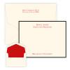 Manager Flat Cards - Raised Ink Stationery - Optional Border (EG7095)
