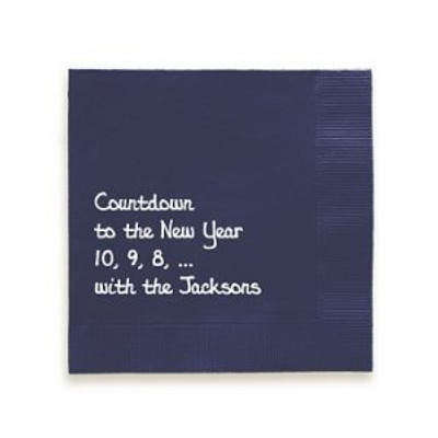 Personalized Napkins and Why We Think They Are AWESOME