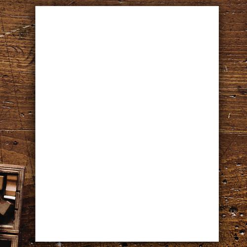 "Blank Business Letterhead - Blank Letter Sheets - 8.5"" x 11"" (NT5100)"