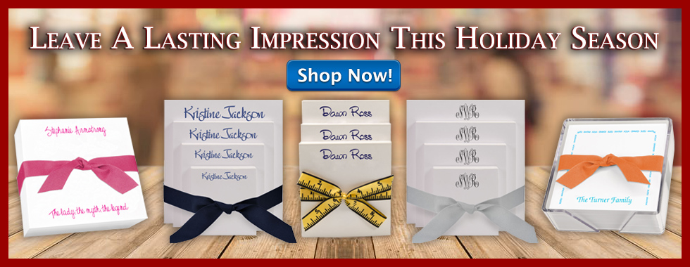 Leave A Lasting Impression This Holiday Season with help from StationeryXpress.com!