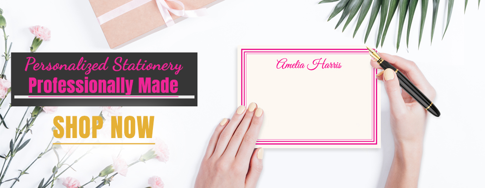 Personalized Stationery Professionally Madeat stationeryxpress.com