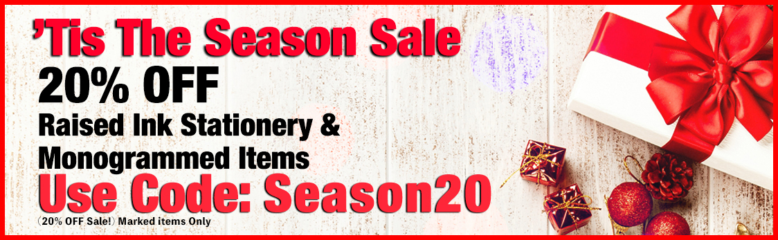 20% OFF 'Tis The Season Sale at StationeryXpress.com
